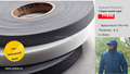 HIGH WATER RESISTANCE 2-LAYER AND 3 LAYER SEAM SEALING TAPE/SEAM TAPE FOR OUTDOOR GARMENTS, WORKWEAR
