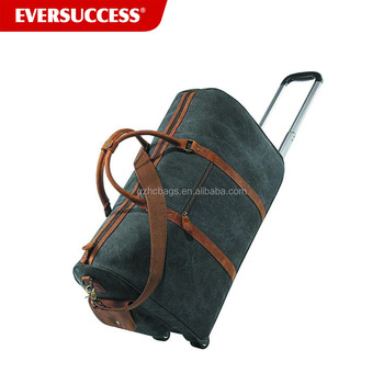 MWH certificate cheap travel trolley bag, outdoor wheeled trolley bag