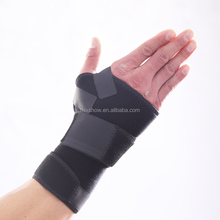 Factory supply neoprene deluxe lace-up wrist brace
