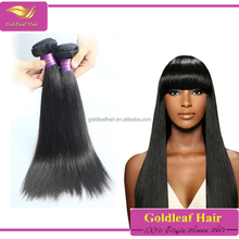 Best selling Raw Unprocessed Natural Color Douoble Weft 8A Best Quality Cheap Virgin Braiding Straight Peruvian Hair