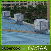 Industrial water based air cooler , air vents evaporative cooling type of air coolers India