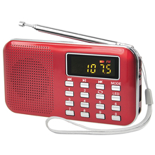 Hot sale promotion nice gift portable FM radio mp3 speaker usb reader tf card music player