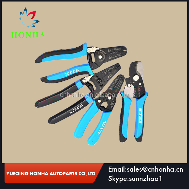"wire multi-purpose stripping pliers Multi Tool 8"" Wire Stripper Cable Cutting Stripping Pliers Cutter mm Hand Tools"