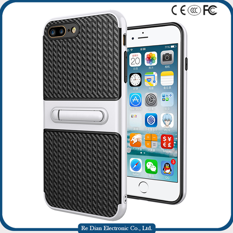 New Launching Phone Accessories Kickstand Mobile Case for iPhone 7