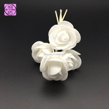 White flower aroma diffuser stick with reeds