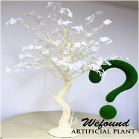 WF07106 fashion Creamy white manzanita tree wedding table decoration wedding centerpieces