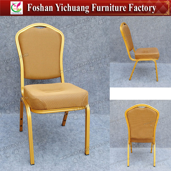 2015 Latest High Quality Modern Home Furniture Metal Low Back Fabric Supreme Dining Chair YC - ZL07 - 26