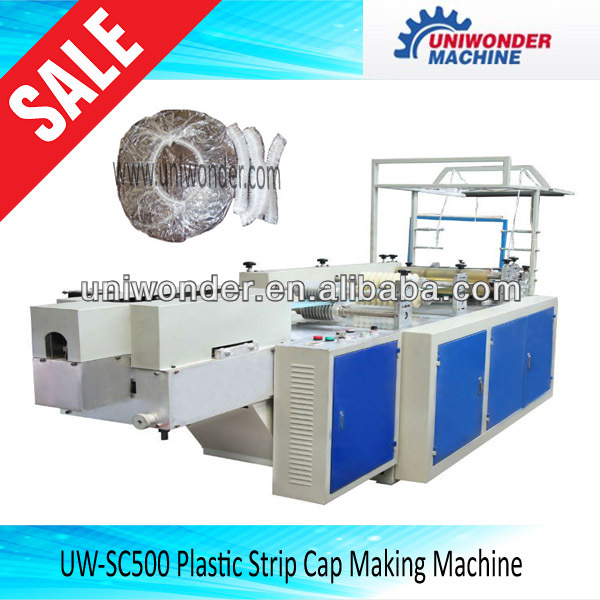 Shower cap making machine