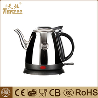 1.0L Cheap price electric water kettle for home kitchen appliance