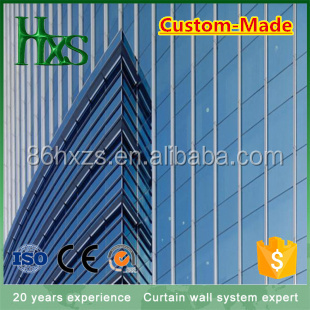 one-stop solution sound proof Low-E insulated glass curtain wall