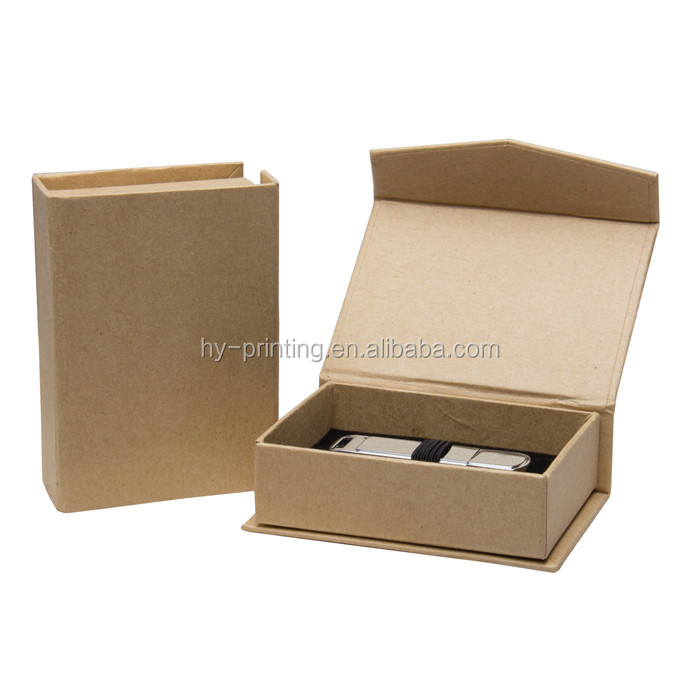Customized Logo and Printed Brown Kraft Paper Boxes