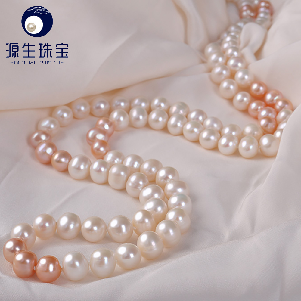 freshwater cultured pearl necklace long designs 2 strands or 3 strands