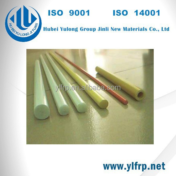Fiberglass Pultruded FRP Rod/Bar Fiber Glass fishing rod,solid glass rod Manufacturer