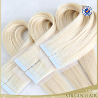 wholesale human brazilian hair 7a human remy tape hair extensions
