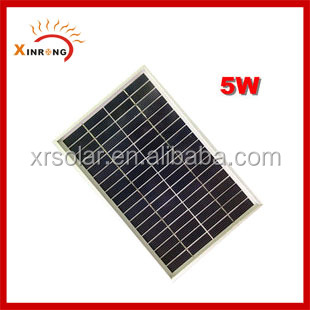 5w Price Per Watt Polycrystalline Silicon Solar Panel