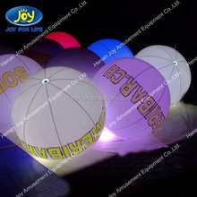 China wholesale inflatable led balloon, custom logo printed led balloons, custom logo balloons
