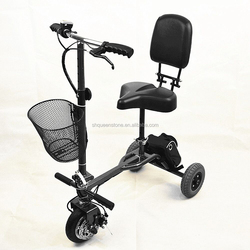 Cheapest producer electric scooter 3 wheels 250w for foot injury