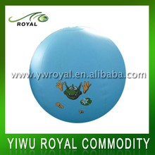 Animal Design Blue PVC Inflatable Big Custom Beach Balls