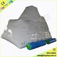 inflatable iceberg water climbing wall inflatable water mountain