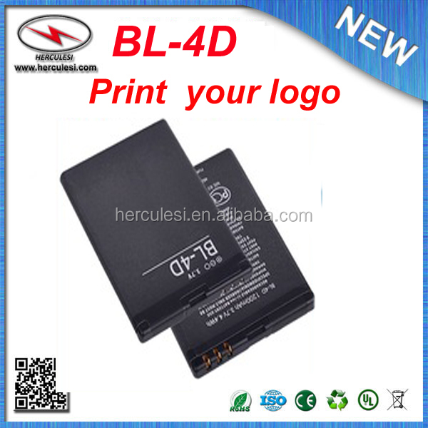Hot Sale Standard Phone Battery BL-4D for Nokia N97mini/N8-00/E5-00/E7-00/T7-00/702T