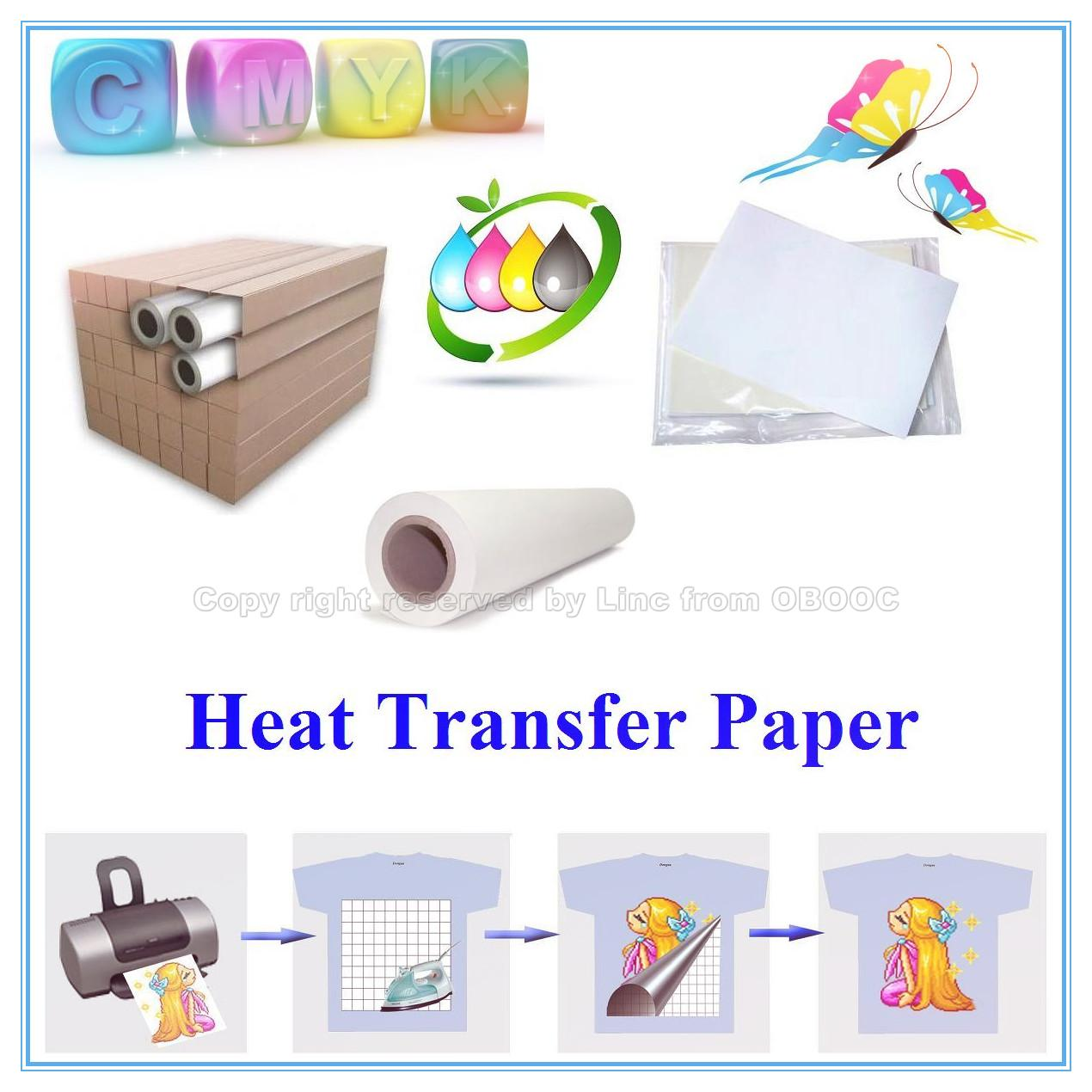 heat transfer paper Print graphics onto special transfer paper using sublimation inks use a heat  press to transfer the ink-on-paper to the item you want to decorate.