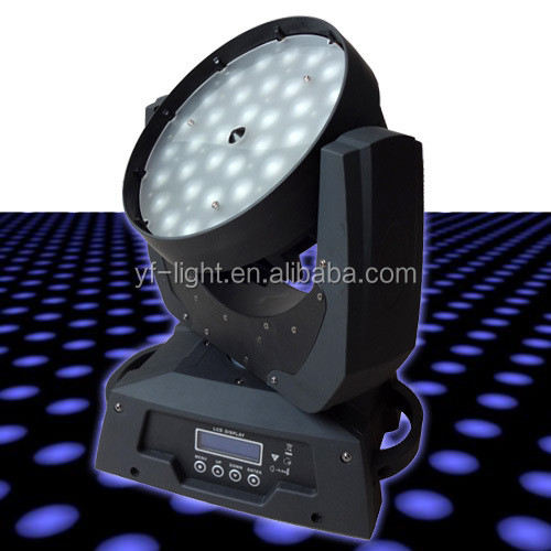 2017 hot sales 36pcs 8w led moving head light with zoom