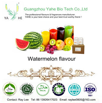 Free sample for concentrated food grade flavor Watermelon liquid flavouring for beverage