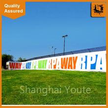 mesh banner mesh sticker one way vision and adhesive mesh,fence mesh banners printing,outdoor mesh banner at factory-price