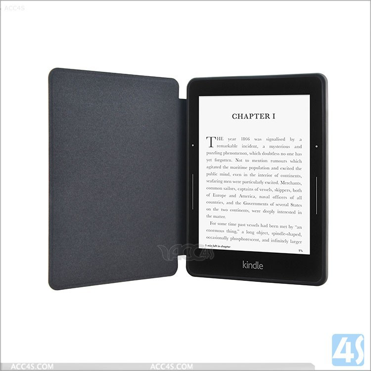 Leather Protective Cover for Amazon Kindle Voyage