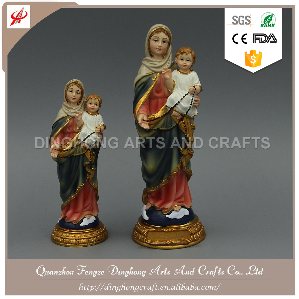 Wholesale Home Decoration,Resin Figures Saint Statue