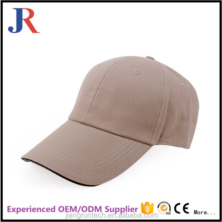 JR jiangrun soft textile baseball caps golf baseball caps