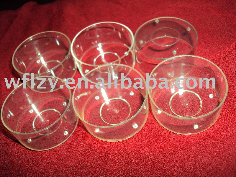 Flame retardant tealight candle holder