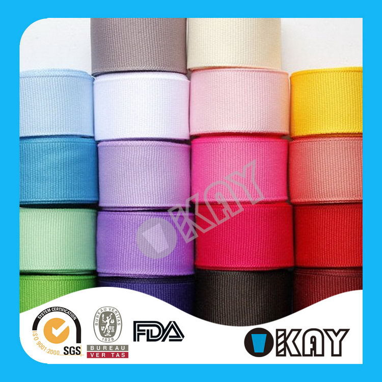 Super Quality New Coming Polyester Grosgrain Ribbon Maple Sugar