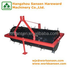 Tractor Implements 3 point land roller with Spikes field roller for lawn roler sale Soil conditioners, lawn aerators