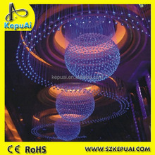 Christmas lighting optical fiber lights for ceilling fiber optic decoration