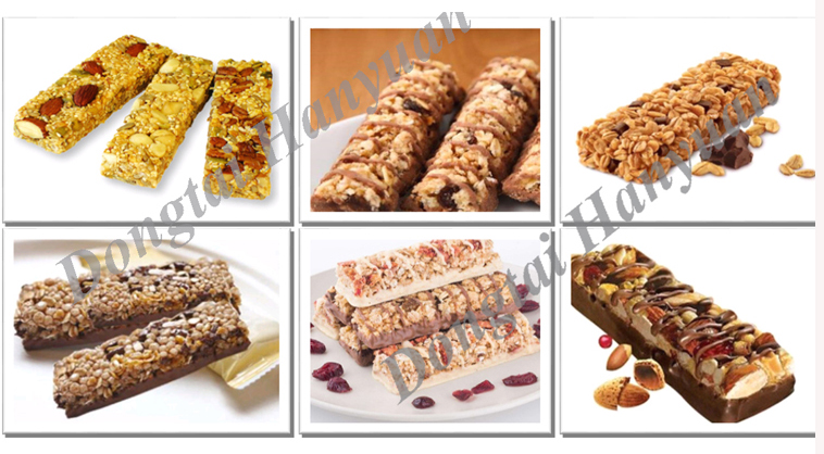 New product granola chocolate bar machine of CE and ISO9001 standard