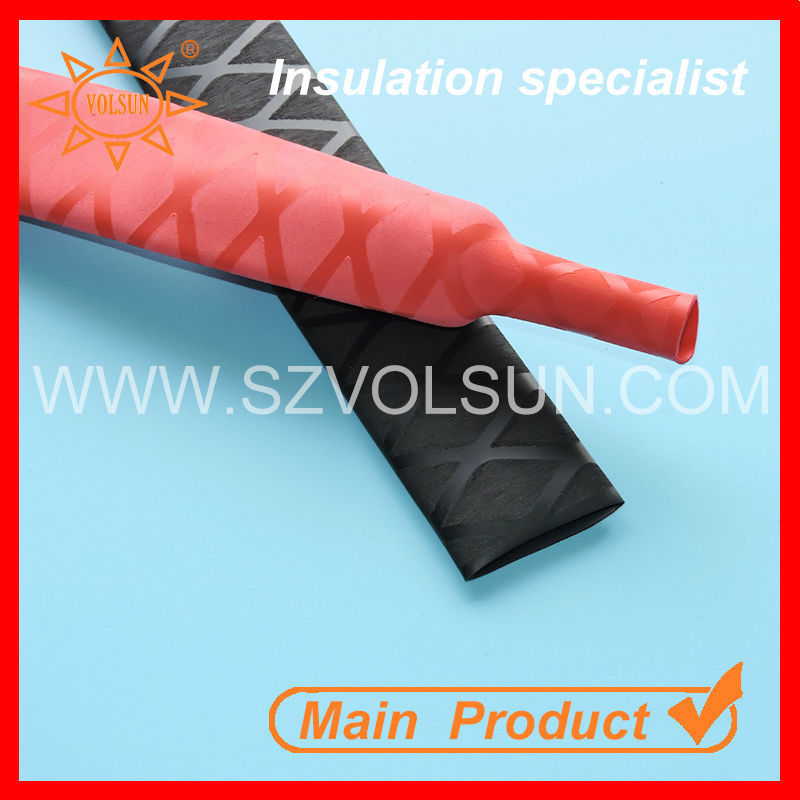 2:1 Red UV Resistant Heat Shrink Fishing Rod Sleeve