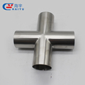 Stainless steel sanitary clamp cross