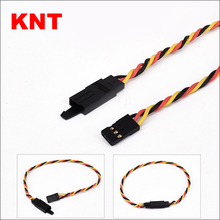KNT Twisted Heavy Duty Anti-off Male Female JR Servo Extension Cable