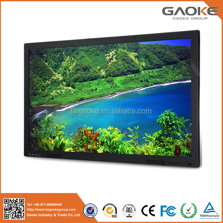 GK-880T 55 65 70 84 98inch ultra HD 4K LCD/LED touch screen smart board tv all in one PC support MAC PC