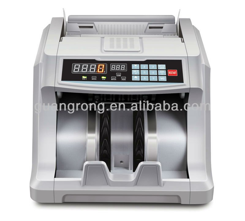 Different Currencies Bill/Cash Counter GR-6600UV/MG LED GR-6600UV/MG LED