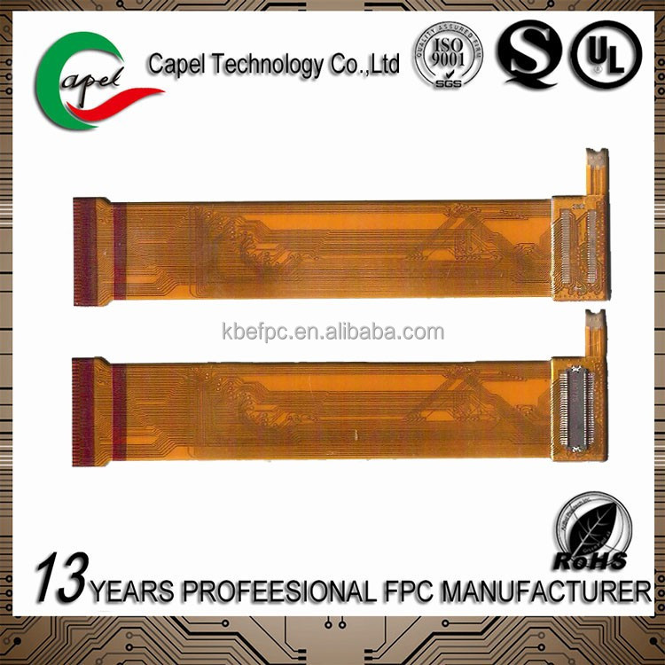 Professional customized FPC cable Multilayer FPC cable in connector