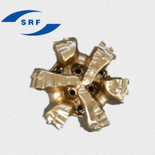 API&ISO 60mm 65mm 75mm PDC drill bit for hard or very hard formation