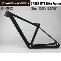 2017 Winow high quality full Suspension carbon frame mtb 27.5er carbon frames 650B carbon mountain frame
