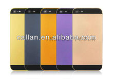 matte finish back cover/panel Middle Plate housing for Apple iPhone 5