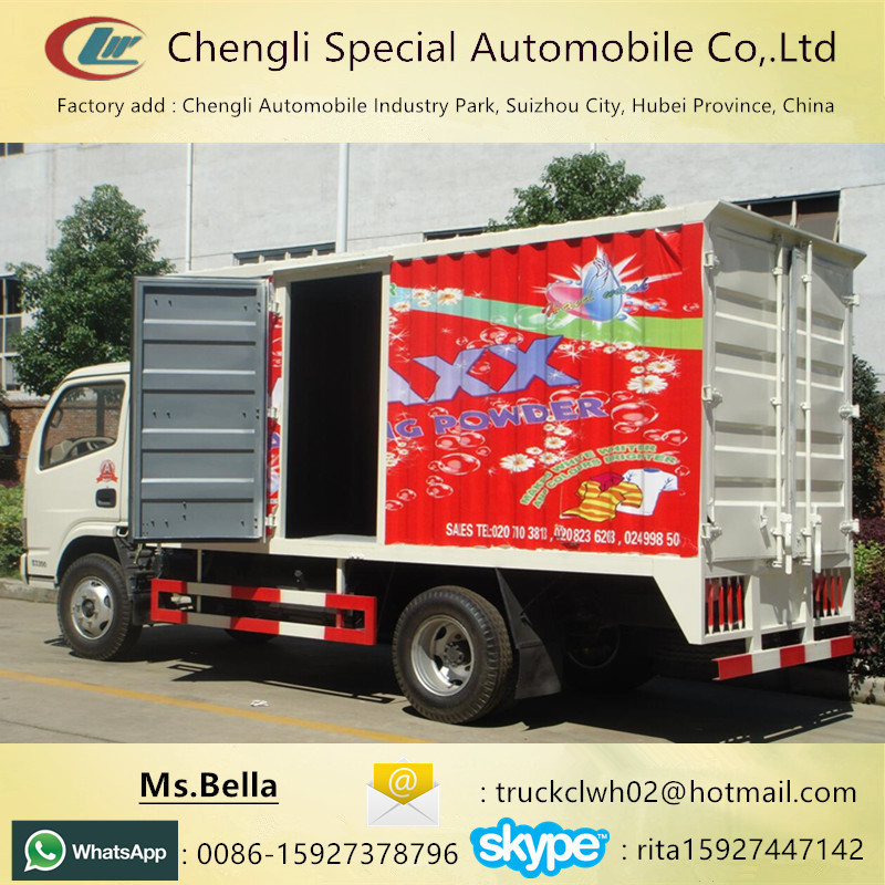 Food Drinks Goods transportation DONGFENG diesel van