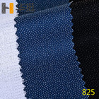 "55 grams 60"" inches 100% polyester 825 twill lining knitted fabrics shirt interlining for suits"