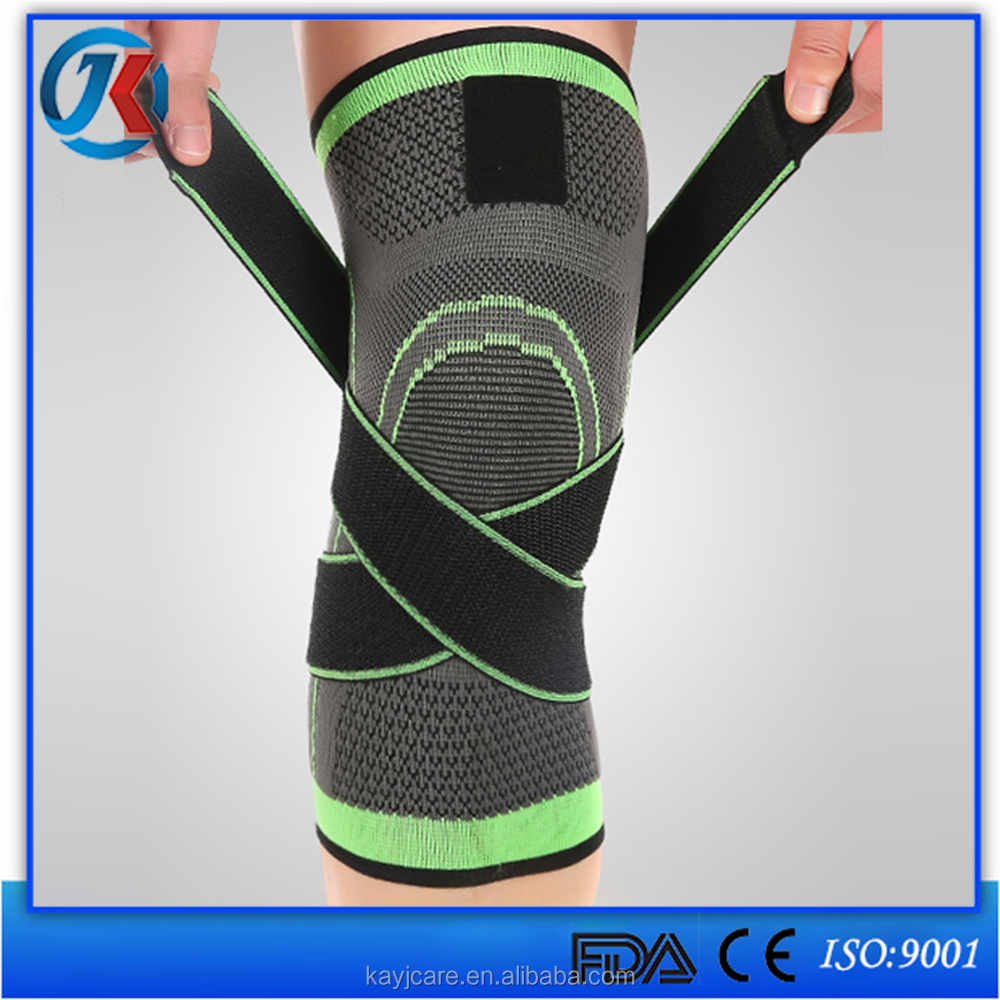 shopping elastic antislip compression knee support comfortable sports sleeve