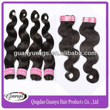 Pure wholesale virgin unprocessed brazilian hair