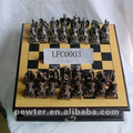 Chinese Dragon metal chess set